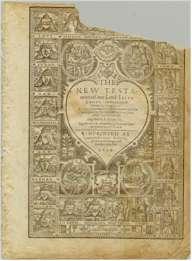 Geneva Bible Title Page, 1609