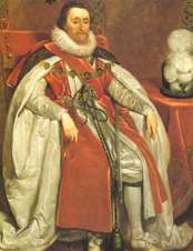 Portrait of King James I of England